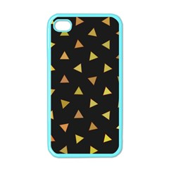 Shapes Abstract Triangles Pattern Apple iPhone 4 Case (Color)