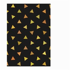 Shapes Abstract Triangles Pattern Small Garden Flag (two Sides)