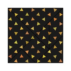 Shapes Abstract Triangles Pattern Acrylic Tangram Puzzle (6  X 6 )
