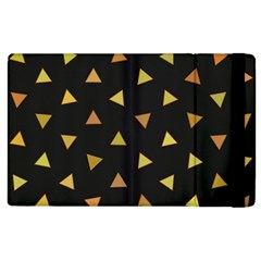 Shapes Abstract Triangles Pattern Apple iPad 3/4 Flip Case