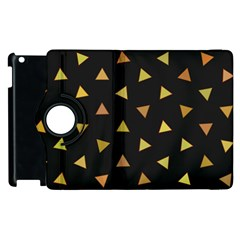 Shapes Abstract Triangles Pattern Apple iPad 2 Flip 360 Case