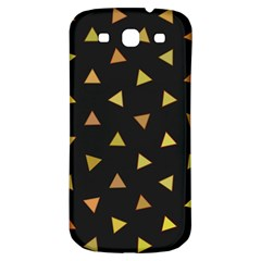 Shapes Abstract Triangles Pattern Samsung Galaxy S3 S Iii Classic Hardshell Back Case