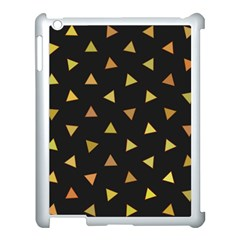 Shapes Abstract Triangles Pattern Apple Ipad 3/4 Case (white)