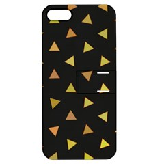 Shapes Abstract Triangles Pattern Apple iPhone 5 Hardshell Case with Stand