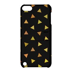 Shapes Abstract Triangles Pattern Apple iPod Touch 5 Hardshell Case with Stand