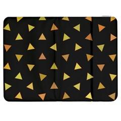 Shapes Abstract Triangles Pattern Samsung Galaxy Tab 7  P1000 Flip Case