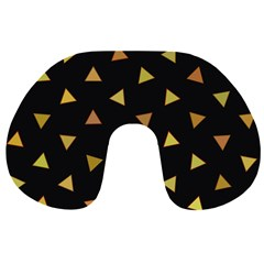 Shapes Abstract Triangles Pattern Travel Neck Pillows