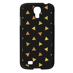 Shapes Abstract Triangles Pattern Samsung Galaxy S4 I9500/ I9505 Case (black)