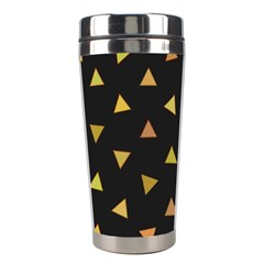 Shapes Abstract Triangles Pattern Stainless Steel Travel Tumblers