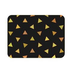 Shapes Abstract Triangles Pattern Double Sided Flano Blanket (Mini)