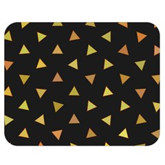 Shapes Abstract Triangles Pattern Double Sided Flano Blanket (Medium)