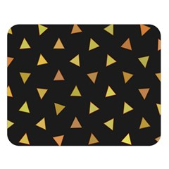 Shapes Abstract Triangles Pattern Double Sided Flano Blanket (Large)