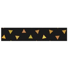 Shapes Abstract Triangles Pattern Flano Scarf (Small)