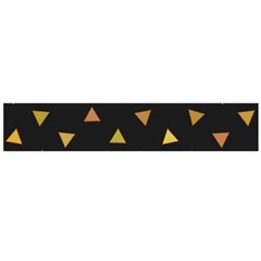 Shapes Abstract Triangles Pattern Flano Scarf (Large)