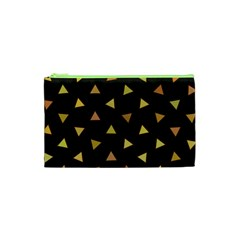Shapes Abstract Triangles Pattern Cosmetic Bag (XS)
