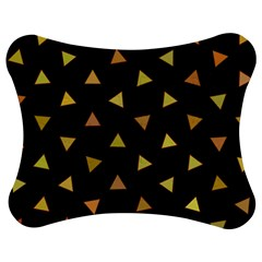 Shapes Abstract Triangles Pattern Jigsaw Puzzle Photo Stand (Bow)