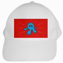 Creature Forms Funny Monster Comic White Cap