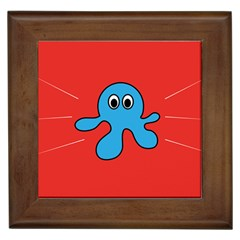 Creature Forms Funny Monster Comic Framed Tiles