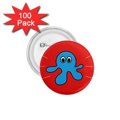 Creature Forms Funny Monster Comic 1.75  Buttons (100 pack)