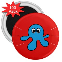 Creature Forms Funny Monster Comic 3  Magnets (100 pack)