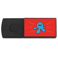Creature Forms Funny Monster Comic USB Flash Drive Rectangular (1 GB)