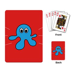 Creature Forms Funny Monster Comic Playing Card