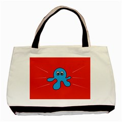 Creature Forms Funny Monster Comic Basic Tote Bag