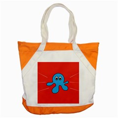 Creature Forms Funny Monster Comic Accent Tote Bag