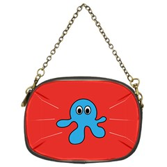 Creature Forms Funny Monster Comic Chain Purses (two Sides)