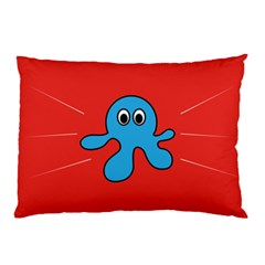 Creature Forms Funny Monster Comic Pillow Case