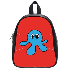 Creature Forms Funny Monster Comic School Bags (small)