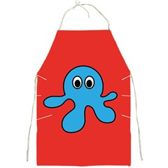 Creature Forms Funny Monster Comic Full Print Aprons