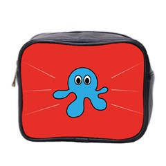 Creature Forms Funny Monster Comic Mini Toiletries Bag 2-Side