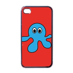 Creature Forms Funny Monster Comic Apple Iphone 4 Case (black)