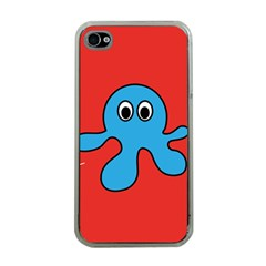 Creature Forms Funny Monster Comic Apple iPhone 4 Case (Clear)