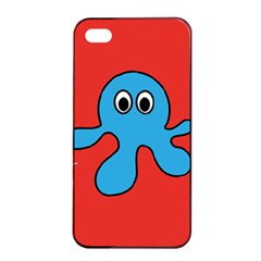 Creature Forms Funny Monster Comic Apple iPhone 4/4s Seamless Case (Black)