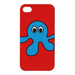 Creature Forms Funny Monster Comic Apple Iphone 4/4s Premium Hardshell Case