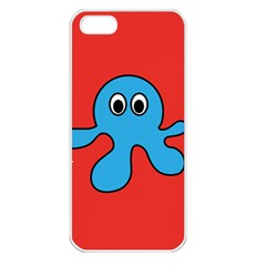 Creature Forms Funny Monster Comic Apple iPhone 5 Seamless Case (White)