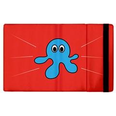 Creature Forms Funny Monster Comic Apple iPad 2 Flip Case