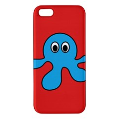 Creature Forms Funny Monster Comic Apple Iphone 5 Premium Hardshell Case