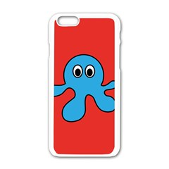 Creature Forms Funny Monster Comic Apple Iphone 6/6s White Enamel Case