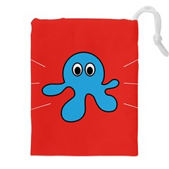 Creature Forms Funny Monster Comic Drawstring Pouches (XXL)