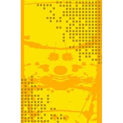 Texture Yellow Abstract Background 5 5  X 8 5  Notebooks