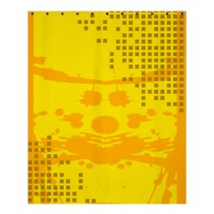 Texture Yellow Abstract Background Shower Curtain 60  X 72  (medium)