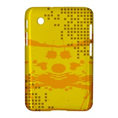 Texture Yellow Abstract Background Samsung Galaxy Tab 2 (7 ) P3100 Hardshell Case