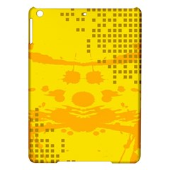 Texture Yellow Abstract Background iPad Air Hardshell Cases