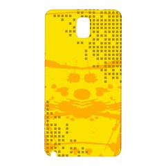Texture Yellow Abstract Background Samsung Galaxy Note 3 N9005 Hardshell Back Case