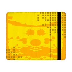 Texture Yellow Abstract Background Samsung Galaxy Tab Pro 8.4  Flip Case