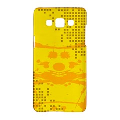 Texture Yellow Abstract Background Samsung Galaxy A5 Hardshell Case