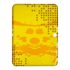 Texture Yellow Abstract Background Samsung Galaxy Tab 4 (10 1 ) Hardshell Case